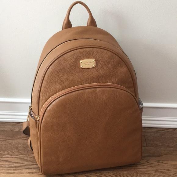 2add9e1685c2 Michael Kors Bags   Nwt Large Abbey Backpack Acorn   Poshmark